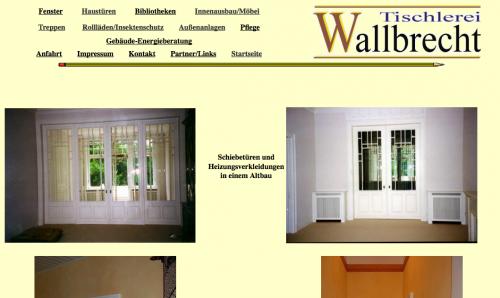 Firmenprofil von: Tischlerei Wallbrecht in Sarstedt