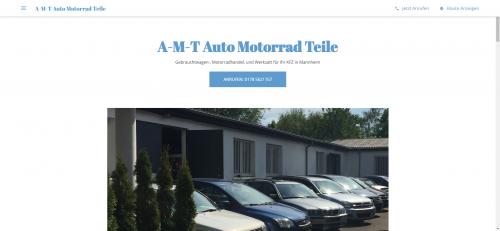 Firmenprofil von: KFZ Reparaturservice in Mannheim: A-M-T Auto & Motorradteile