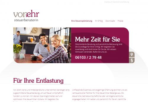Firmenprofil von: Steuerkanzlei Roswitha von Ehr: Zuverlässige Steuerberatung in Langen
