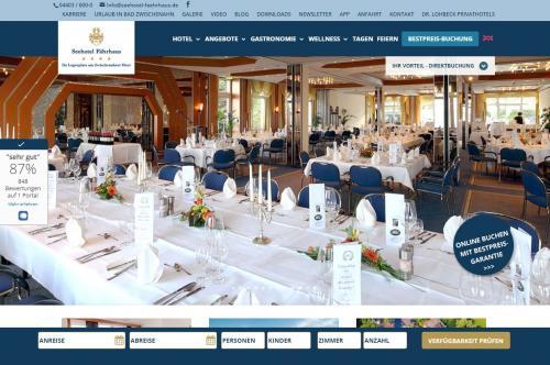 Firmenprofil von: Das Hotel direkt am Bad Zwischenahner Meer - Seehotel Fährhaus