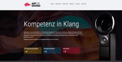 Firmenprofil von: Das perfekte Klangerlebnis - mit Hornlautsprechern von Art of Sound in Saarbrücken
