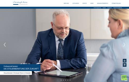 Firmenprofil von: Ihr Steuerberater für Ärzte und Heilberufe: Christoph Renz in Dresden