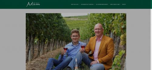 Firmenprofil von: Köstliche Traubensaftschorle von Weingut Adam