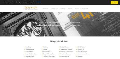 Firmenprofil von: Werbekonzept Aachen: Visuelle Kommunikation mit Zeimmedia