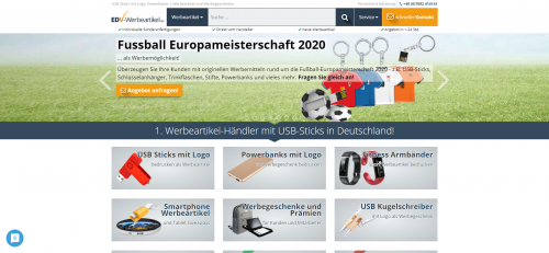 Firmenprofil von: Erstklassige Powerbanks als Werbegeschenk bei EDV-Werbeartikel.de GmbH