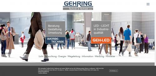 Firmenprofil von: Gehring Technik & Vertrieb (UG) – Ihr Experte für Werbetechnik in der Ortenau