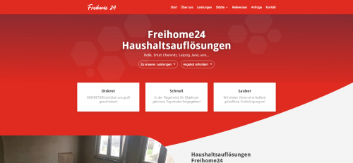 Firmenprofil von: Wohnungsauflösungen im Großraum Chemnitz